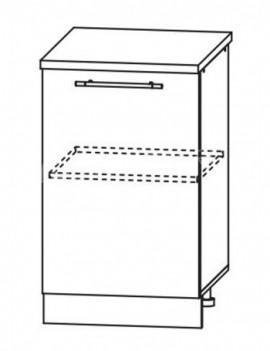 Кухня Лофт  Шкаф нижний ШН 500