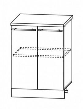 Кухня Лофт  Шкаф нижний ШН 600
