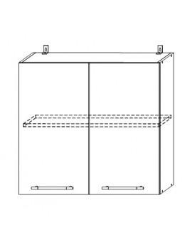Кухня Лофт шкаф верхний 800 мм