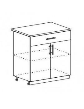 Кухня КсенияШарлотта Шкаф нижний с ящиком ШНЯ(1) 600