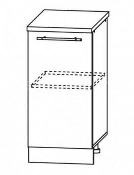 Кухня Троя Шкаф нижний ШН 400