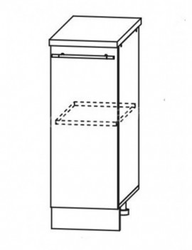 Кухня Лофт  шкаф нижний ШН 200