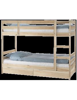 Кровать двухъярусная массив...