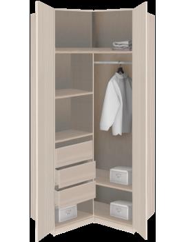 Шкаф для одежды угловой 2-х...
