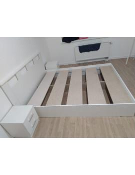 Кровать Европа 160 см (белая)