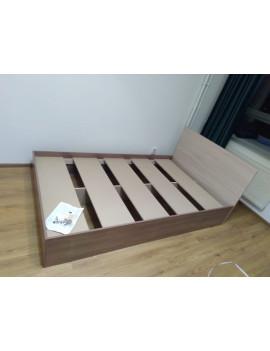 Кровать Бася 90 см (ясень)