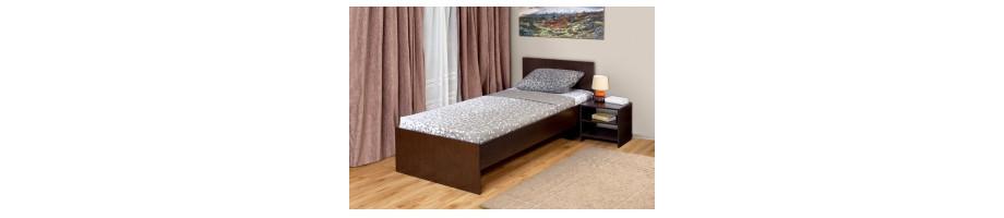 кровать односпальная,кровать односпальная +с матрасом
